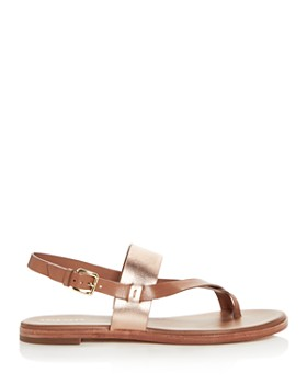 Cole Haan - Women's Anica Leather Thong Sandals