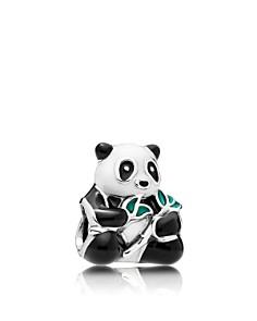 PANDORA Sterling Silver & Enamel Sweet Panda Charm - Bloomingdale's_0