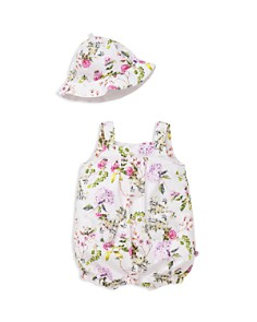 Offspring Girls' Floral-Print Shortall & Hat Set - Baby - Bloomingdale's_0