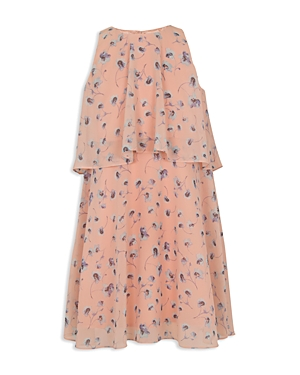 BCBGirls Girls PoppyPrint LayeredLook Dress  Big Kid