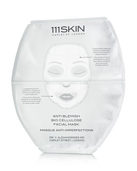 111SKIN - Anti-Blemish Bio Cellulose Facial Masks, Set of 5