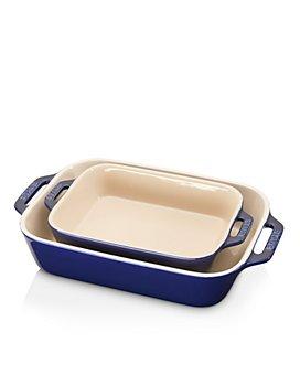 Staub - Ceramic Rectangular Baking Dish 2-Piece Set