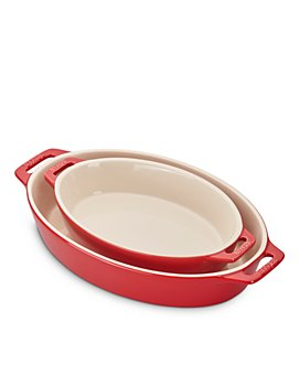 Staub - Ceramic Oval Baking Dish 2-Piece Set
