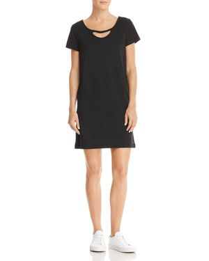 N PHILANTHROPY CARLITA CUTOUT T-SHIRT DRESS