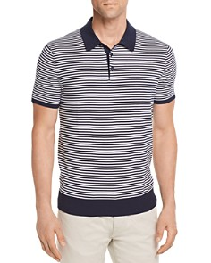 Michael Kors Striped Banded Polo Shirt - 100% Exclusive - Bloomingdale's_0