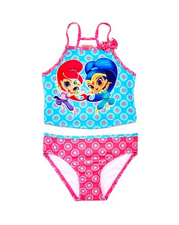 Dream Wave - Girls' Shimmer and Shine© 2-Piece Tankini Swimsuit - Little Kid