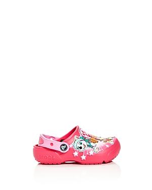 Crocs x Nickelodeon Girls' Paw Patrol Fun Lab Clogs - Walker, Toddler, Little Kid