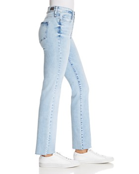 PAIGE - Hoxton Ankle Straight Jeans in Pasadena - 100% Exclusive