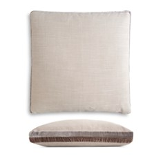 "Kevin O'Brien Studio - Double Tuxedo Stripe Decorative Pillow, 22"" x 22"""