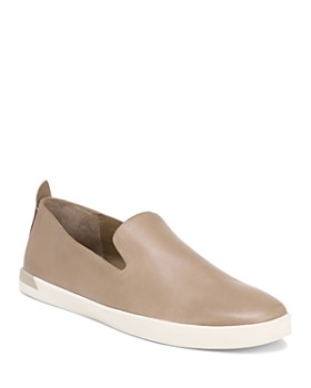 Vince - Vince Women's Vero Leather Slip On Sneakers