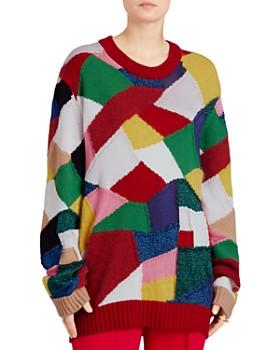 Burberry - Gladey Patchwork Sweater ... d915568ca