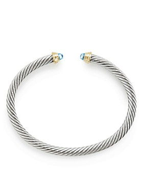 David Yurman - Cable Kids Birthstone Bracelet with 14K Gold