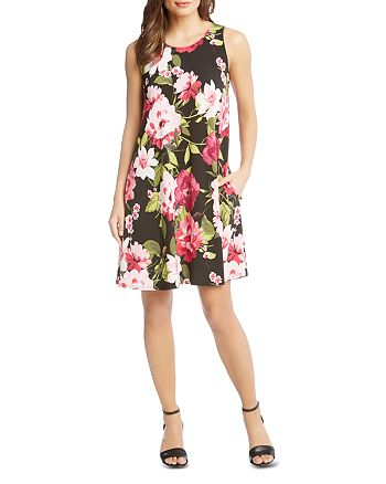 39a3ae6ff08f Karen Kane Chloe Sleeveless Floral-Print Dress | Bloomingdale's