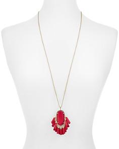 "Kendra Scott - Betsy Tassel Pendant Necklace, 32"""