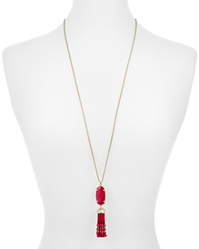 "Kendra Scott - Eva Tassel Pendant Necklace, 32"""