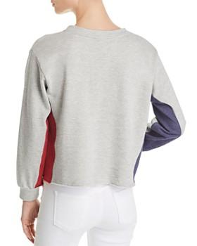 Sundry - Color-Block Pullover Sweatshirt