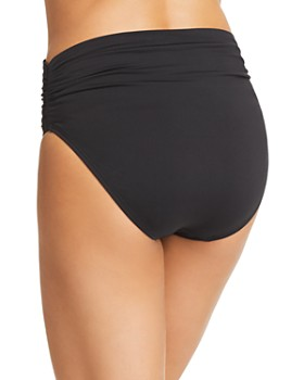VINCE CAMUTO - High-Waist Bikini Bottom