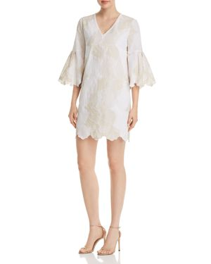 ALBANY EMBROIDERED DRESS - 100% EXCLUSIVE