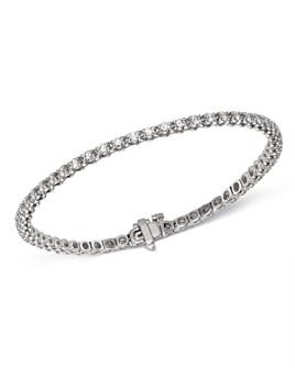 Bloomingdale's - Diamond Tennis Bracelet in 14K White Gold, 2.0 ct. t.w. - 100% Exclusive