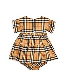 Burberry - Girls' Alima Vintage Check Dress & Bloomers Set - Baby
