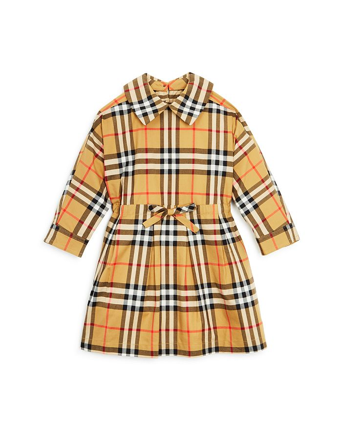 327aa08e23 Burberry Girls' Mini Crissida Vintage Check Dress - Baby ...