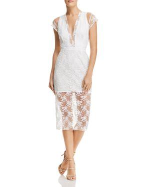 Sau Lee Emery Embroidered Dress