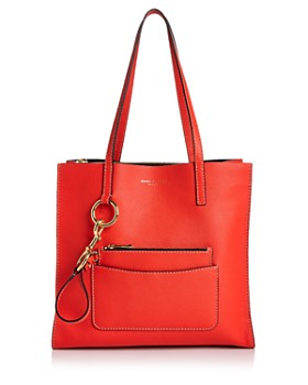 MARC JACOBS - The Bold Grind East/West Leather Tote