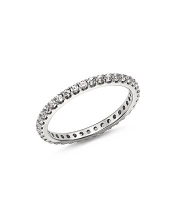 Bloomingdale's - Diamond Eternity Band in 14K White Gold, 0.50 ct. t.w. - 100% Exclusive