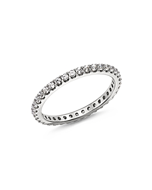 Bloomingdale's Diamond Eternity Band in 14K White Gold, 0.50 ct. t.w. - 100% Exclusive
