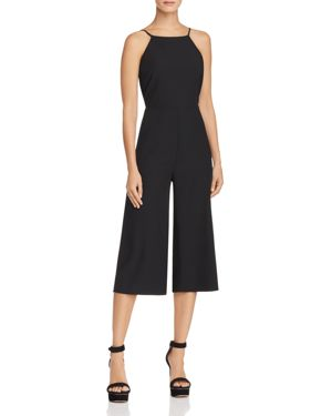 FORE TIE-BACK CROPPED JUMPSUIT