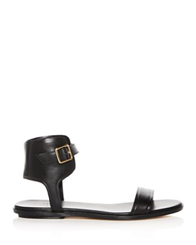 Cole Haan - Women's Barra Leather Ankle Strap Sandals