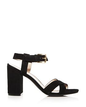 Cole Haan - Women's Kadi Suede Crisscross Block Heel Sandals