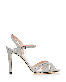 SJP by Sarah Jessica Parker - Women's Cadence Glitter High-Heel Sandals
