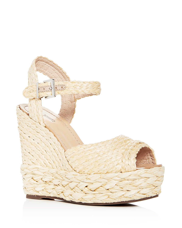Schutz Women's Belatrix Platform Wedge Sandals