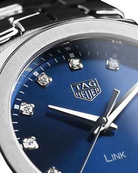 TAG Heuer - Link Quartz Diamond Watch, 32mm