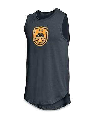 Under Armour Boys Baseline Basketball Tank  Big Kid