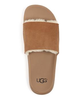 UGG® - Men's Xavier Twin Face Shearling Slide Sandals