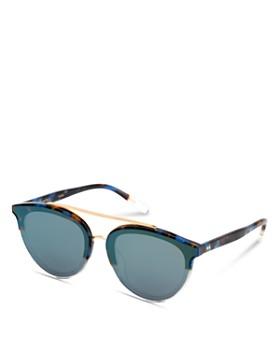 Krewe - Clio 24K Mirrored Aviator Sunglasses, 63mm