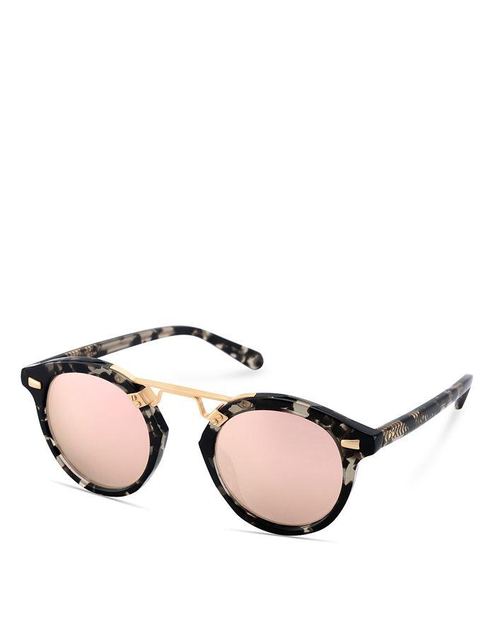 1408d18fa2 Krewe - Women s STL II 24K Mirrored Round Sunglasses