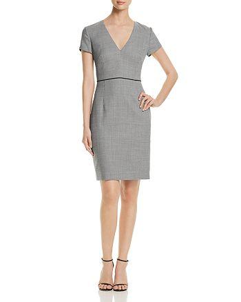 BOSS - Doritala Piped Geo-Print Sheath Dress