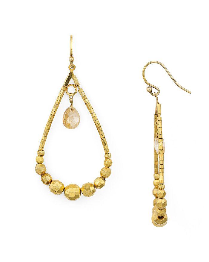 Chan Luu - Floating Crystal Drop Earrings