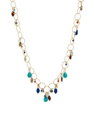 Chan Luu Stone Chain Necklace, 37