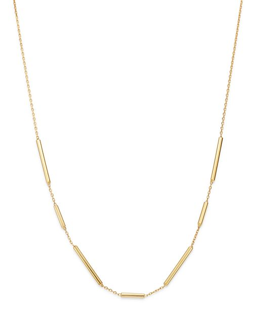 Bloomingdale's - Bar Link Necklace in 14K Yellow Gold - 100% Exclusive