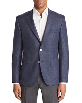 BOSS - Janson Regular Fit Basketweave Sport Coat