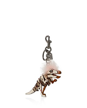 COACH - Small Printed Mohawk Rexy Bag Charm