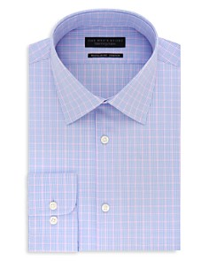 The Men's Store at Bloomingdale's Windowpane Regular Fit Stretch Dress Shirt - 100% Exclusive_0