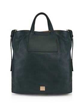 Kooba - Bolivia Reversible Leather & Linen Tote