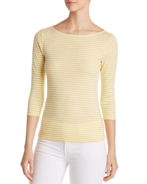 Three Dots Desert Stripe Tee