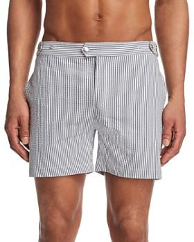 Solid & Striped - Kennedy Seersucker Swim Trunks