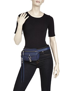 Rebecca Minkoff - Blythe Convertible Leather Belt Bag
